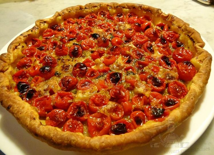 Tarte tomates cerise.JPG