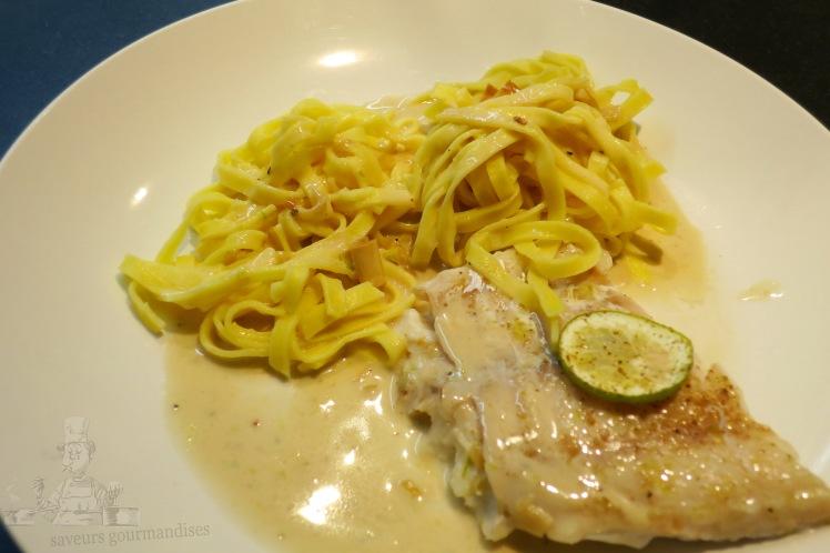 Filet de Mostelle, sauce citronnelle-poivre timut 1.JPG