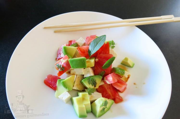 salade avocat, tomate, tofu   .JPG
