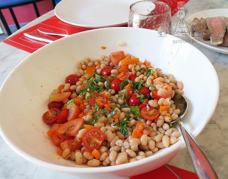 Salade de haricot au tomate et carotte   .JPG