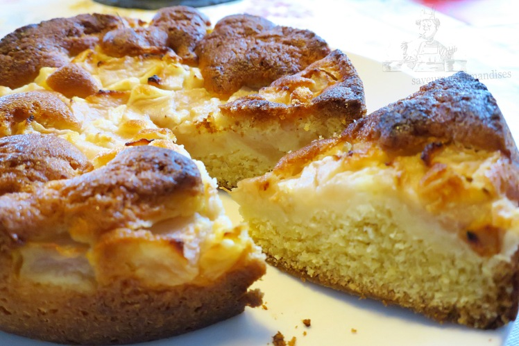 gâteau aux poires 1