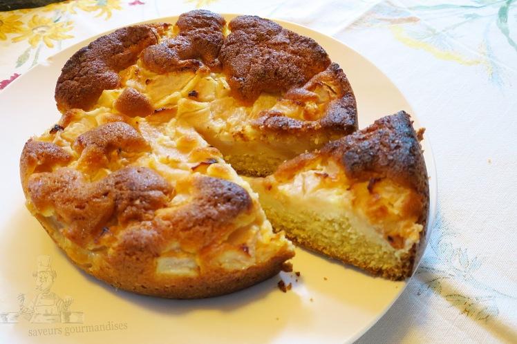 gâteau aux poires 2