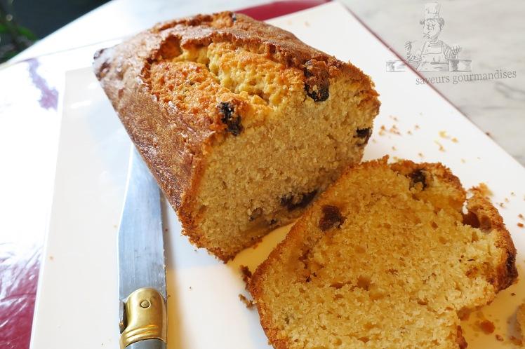 Cake au Citron et raisins sec 1