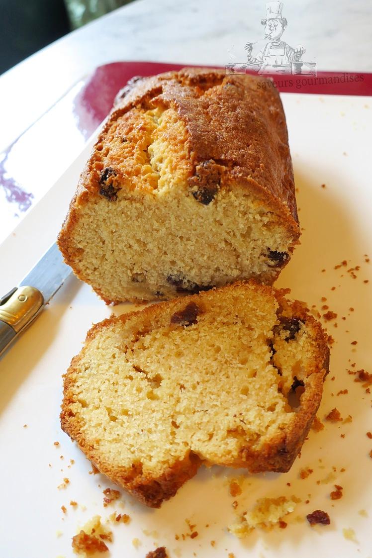 Cake au Citron et raisins sec 2