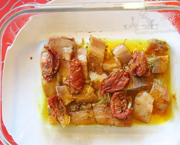 Hareng aux tomates confites 1
