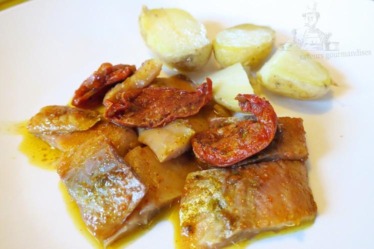 Hareng aux tomates confites 2